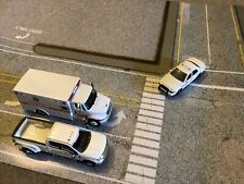 1/64 scale North Americian Road Layout / Diorama sheets. 200GSM.