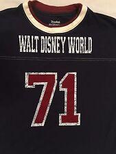 Walt Disney World 71 T-Shirt Sports Blue White ringer Sz. Kids L