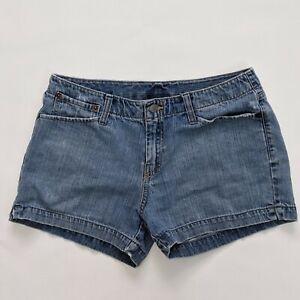 Lucky Brand Womens Size 8/29 Blue Denim Shorts Wonder Wall Short