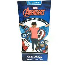 Marvel Avengers Captain America Kids Cozy Wings Wrap Blanket 50 in x 28 in