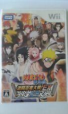 Wii Naruto Shippuuden: Gekitou Ninja Taisen EX 2 JP