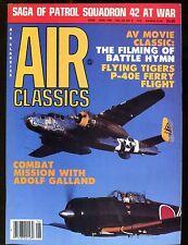 Air Classics Magazine June 1986 Adolf Galland EX No ML 120516jhe