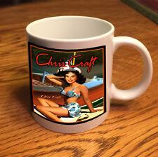 Chris Craft vintage pin up girl Boat - Gift Coffee Mug