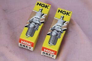 NGK D8EV Gold Palladium spark plug pair. New in original boxes. Ducati 750 F1 86