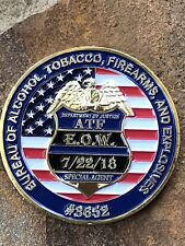 ATF Memorial Coin CHALLENGE COIN