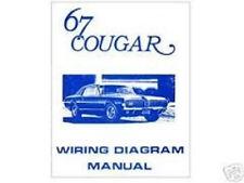 1967 Mercury Cougar Wiring Diagram Manual
