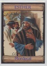 1989 re-Ed Bible Cards Esther #6 Mordecai Non-Sports Card 0q3