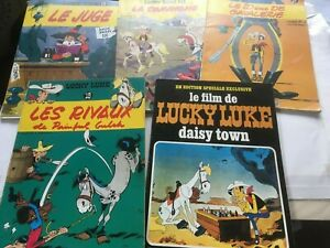 5 x Lucky Luke - French Magazines 1969 - 1972 See Description