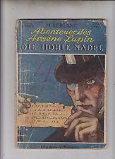 Abenteuer des Arsene Lupin Nr. 4 Original 1925