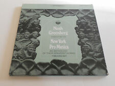 NOAH GREENBERG New York Pro Musica NM 7 LPS Handel Morley Purcell Banchieri