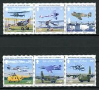 Isle of Man MiNr. 1415-20 postfrisch MNH Royal Airforce Flugzeuge (FZ1114