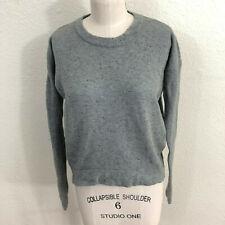 Lululemon Yogi Crew Sweater Estimated Sz S 4/6 Heathered Medium Gray