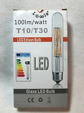 3X T10/T30 LED Bulbs Tubular Edison Style LED Filament Bulb Dimmable 8W E26 /E27