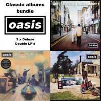 Oasis - Classic Albums Bundle - 3 x Deluxe 180 Gram Vinyl LP's *NEW & SEALED*