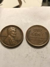 1936-S LINCOLN WHEAT CENT PENNY Very Nice Coins Low Shipping Lot 1