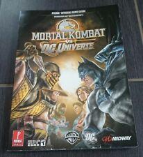 Mortal Kombat vs. DC Universe: prima Official Game Guide (inglés) solución libro
