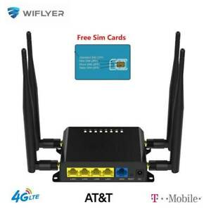 WE826-T2 4G LTE WiFi Router SIM Wireless 1200Mbps Hotspot Home Office Cat Router