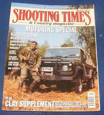 SHOOTING TIMES MAGAZINE MAY 16-22 1991 - MOTORING SPECIAL