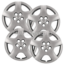 "Set of (4) 16"" Silver Hubcaps fit Toyota Matrix 2003-2008, Heavy Duty"