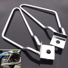Universal Motorcycle Saddle bag Support Bars Mount Bracket For Harley Sportster