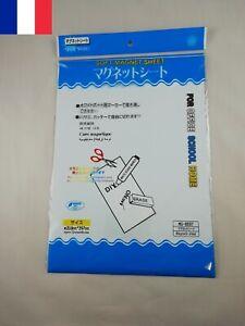 Tableau Blanc Magnétique Souple WhiteBoard Magnet Format A4 210 x 297 mm