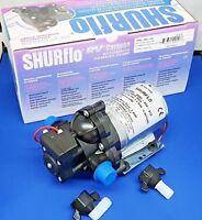 SHURFLO 20psi TrailKing Water Pump 12volt  - 2095-204-412  Caravan / Motorhome