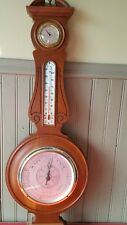 VINTAGE Airguide Instrument Company  Barometer Thermometer