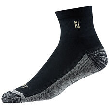 FootJoy Mens ProDry Quarter Trainer Sports Socks - Breathable Comfort Pair