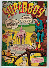 SUPERBOY #37 2.0 1954 PRE CODE CREAM/OFF-WHITE PAGES GOLDEN AGE