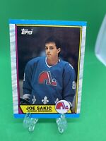 1989-90 Topps Hockey #113 Joe Sakic rookie Quebec Nordiques HOF