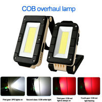 XPE+COB LED Flashlight Torch Work Light Magnetic Lamp USB Rechargeable Outdoor