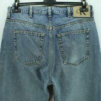 Vintage Calvin Klein Men's Jeans Size W33 L32 in Blue Zipper Fly #AB602