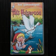NILS HOLGERSON - VOLUME 3 - HET GANZENSPEL  - VHS