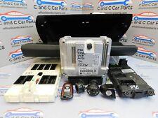 BMW 3 Series Lock Set Kit ECU 1x Key F30 320D 135kw N47D20C Engine 8574093 *157