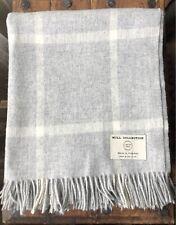 Bronte 100% Merino Wool Throw woven in the UK