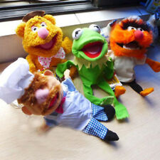 4 pcs The Muppet Show Puppet Plush Kermit the Frog Fozzie Bear drummer Swedish