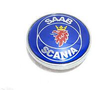 Saab Boot Rear Trunk Badge Emblem Blue 93 9-3 95 9-5 2003 - 2010 2 PIN
