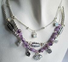 Silver Plated Charm Fashion Necklaces & Pendants