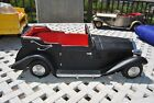"Vintage BLACK Tin Rolls Royce  Toy Car  Japan 16 """" Long"