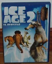 ICE AGE 2 EL DESHIELO DVD NUEVO ANIMACION R2