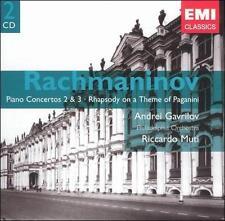 RACHMANINOV: PIANO CONCERTO NOS. 2 & 3; RHAPSODY ON A THEME OF PAGANINI (NEW CD)