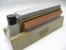 Tri-Hone Ac21 6 Inch Fine Medium Coarse Grit 3 Stone Knife Tool Sharpener + Oil