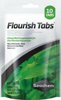 Seachem FLOURISH TABS 10 - Aquarlum Plants Fertiliser Root Tabs