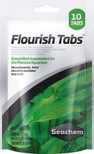 Seachem Flourish Tabs 10-aquarlum plantas abono de raíz de las pestañas