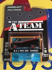 GREENLIGHT HOLLYWOOD RELEASE 19 THE A-TEAM B.A. S 1983 GMC VANDURA VAN NIP