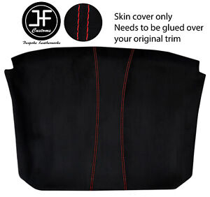 RED STITCH LINER ROOF HEADLINING LUXE SUEDE COVER FITS CORVETTE C6 2005-2013
