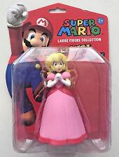 Super Mario Bros Figure Peach Toy Nintendo Gaming Wii SNES Arcade 13cm Large OZ!