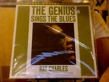 Ray Charles Genius Sings the Blues LP sealed 180 gm vinyl MFSL MOFI No. 004223