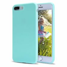 For iPhone 7 Plus 8 Plus X XR XS Max Slim Silicone Rubber Cute Candy Case Cover