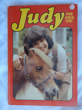 Judy for Girls Annual 1981. Free P&P